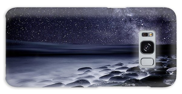 Night Shadows Galaxy Case