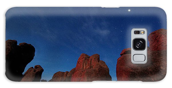 Night Sky City Of Rocks Galaxy Case