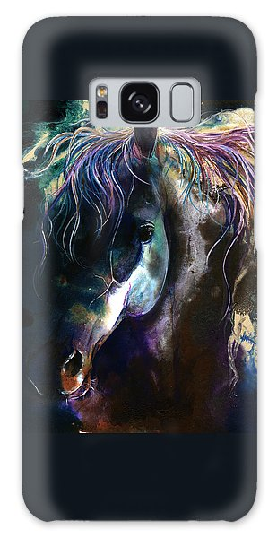 Night Stallion Galaxy Case