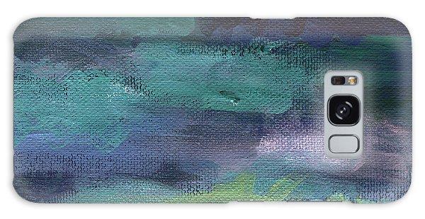 Swimming Galaxy Case - Night Swim- Abstract Art by Linda Woods