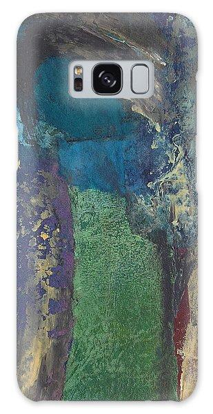 Night Trees Galaxy Case by Catherine Redmayne