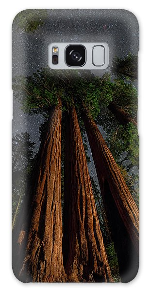 Kings Canyon Galaxy Case - Night View Of Giant Sequoia Trees by Babak Tafreshi