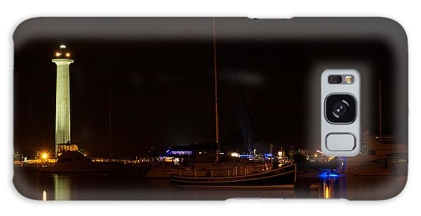 Night View Of Put-in-bay Galaxy Case by Haren Images- Kriss Haren