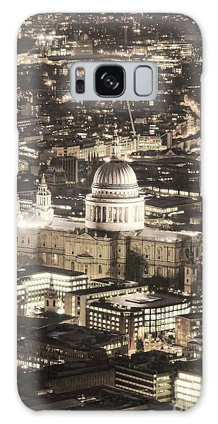 Night View Over St Pauls Galaxy Case