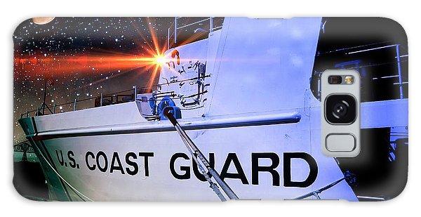 Night Watch Us Coast Guard Galaxy Case by Aaron Berg