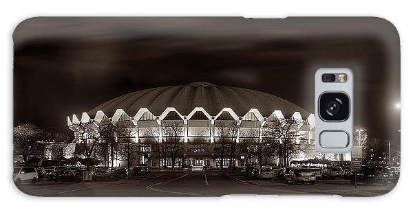night WVU Coliseum basketball arena Galaxy Case