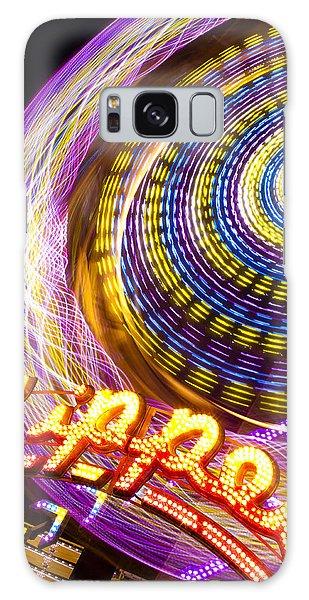 County Fair Galaxy Case - Night Zipper by Caitlyn  Grasso