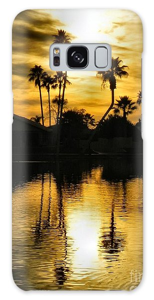 Nightfall Galaxy Case by Deb Halloran