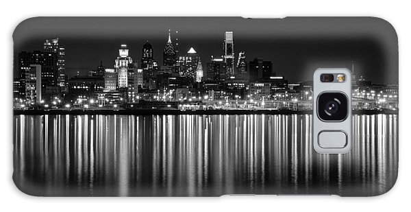 Nightfall In Philly B/w Galaxy Case