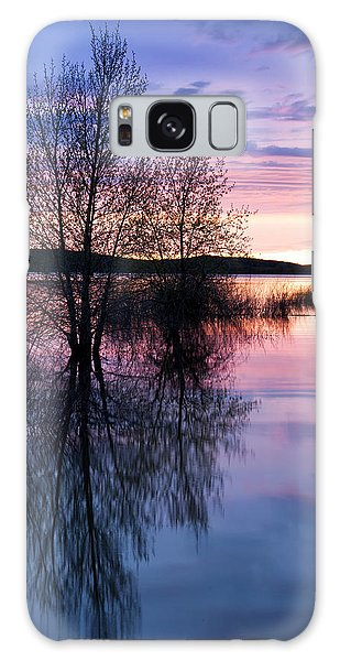 Nightfall Reflection  Galaxy Case by The Forests Edge Photography - Diane Sandoval