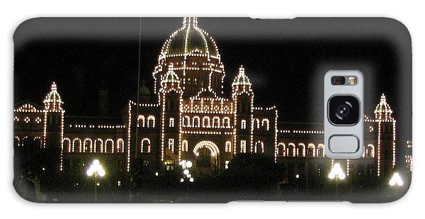 Nightly Parliament Buildings Galaxy Case
