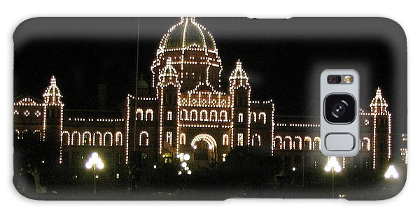 Nightly Parliament Buildings Galaxy Case