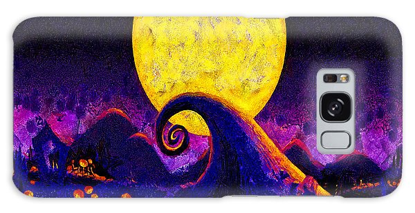 Nightmare Before Christmas Galaxy Case by Joe Misrasi