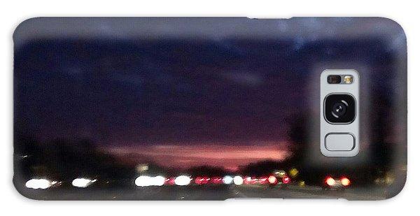 Nighttime Drive Galaxy Case