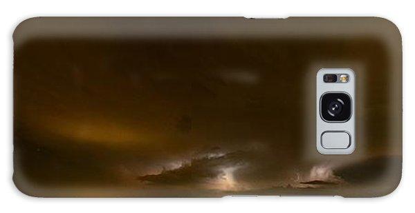 Nighttime Panoramic Galaxy Case