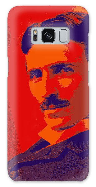 Nikola Tesla #1 Galaxy Case