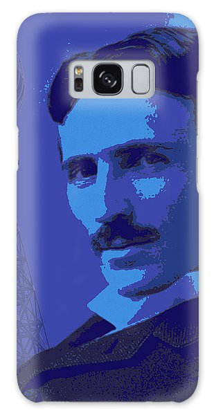 Nikola Tesla #2 Galaxy Case