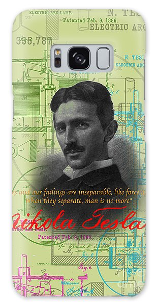 Nikola Tesla #3 Galaxy Case