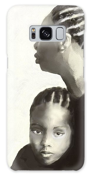 Nina And Lisa Simone Galaxy Case by Vannetta Ferguson