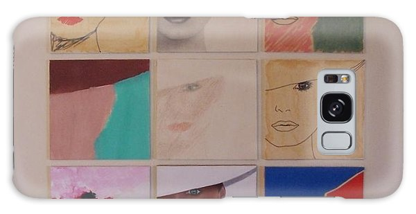Nine Ladies Lolling Galaxy Case