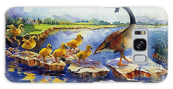 Gosling Galaxy Case - Nine Little Goslings by Jim Bates