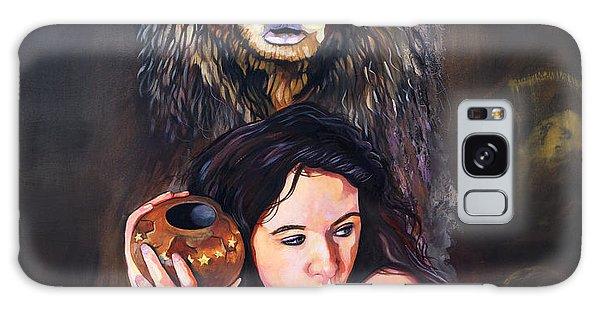 Nine Stars Woman - Bear Medicine Galaxy Case by J W Baker