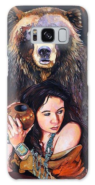 Nine Stars Woman - Bear Medicine Galaxy Case
