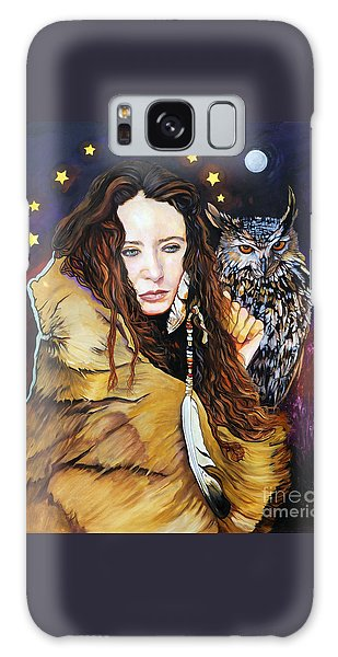 Nine Stars Woman / Owl Medicine Galaxy Case