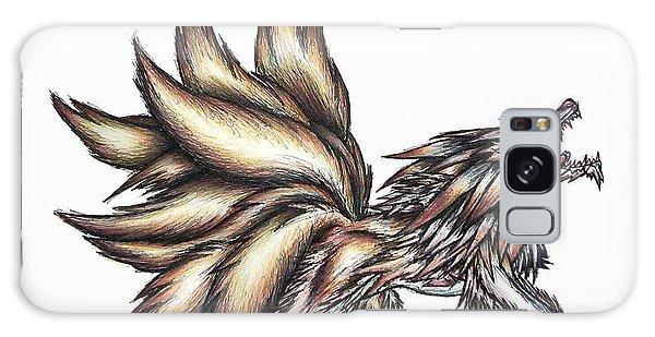 Nine Tails Wolf Demon Galaxy Case by Shawn Dall