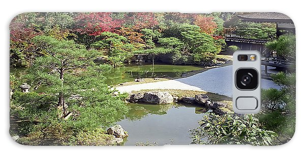 Kansai Galaxy Case - Ninna-ji Temple Garden And Pond - Kyoto Japan by Daniel Hagerman