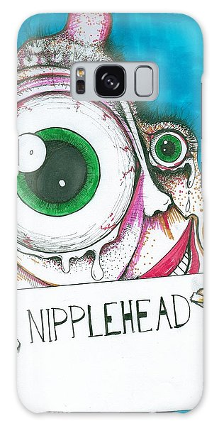 Nipple Head Galaxy Case