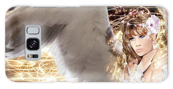 Nissrine An Angels Radiance Galaxy Case