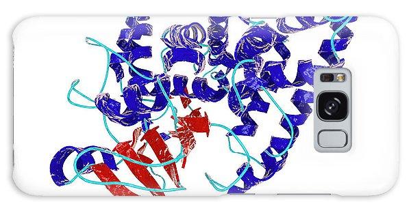 Molecular Biology Galaxy Case - Nitrate Reductase Molecule by Kateryna Kon