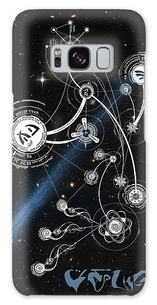 No. 1 Alien Greeting Card Galaxy Case by Robert Kernodle