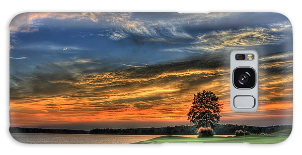 No Better Day Golf Landscape Art Galaxy Case