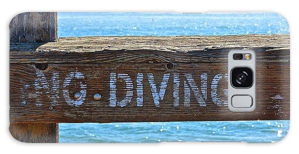 No Diving Galaxy Case