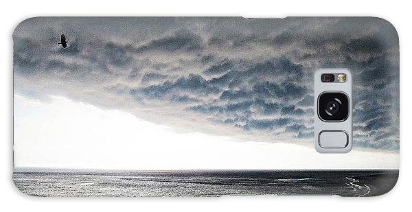 Ominous Galaxy Case - No Fear - Beach Art By Sharon Cummings by Sharon Cummings