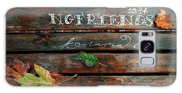 No Friends Galaxy Case by Gwyn Newcombe