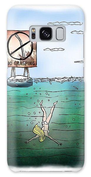 No Grasping Galaxy Case