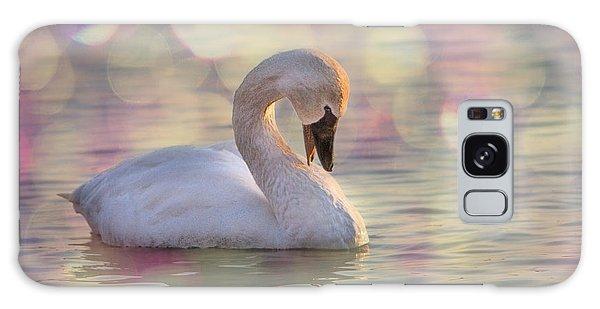 Shy Swan Galaxy Case