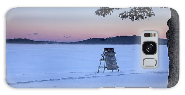 No Lifeguard Spofford Lake Galaxy Case