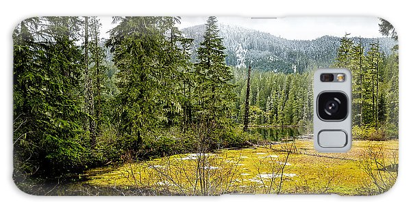 Galaxy Case featuring the photograph No Man's Land by Belinda Greb