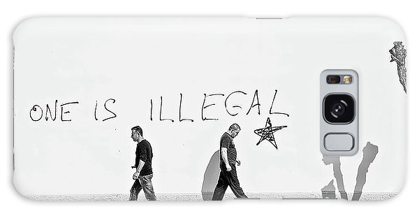People Galaxy Case - No One Is Illegal by Martin Sander