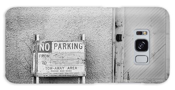 No Parking Galaxy Case