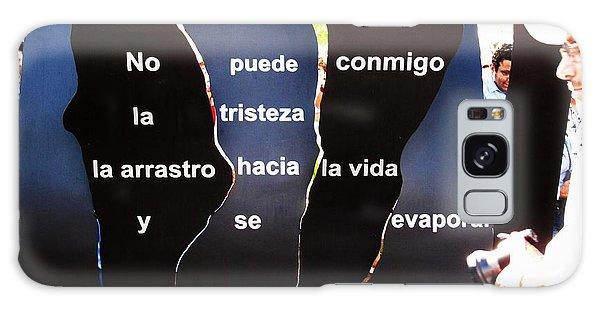 No Puede By Claribel Alegria Galaxy Case