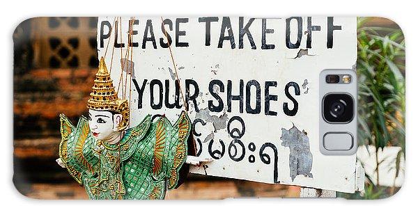 No Shoes Galaxy Case