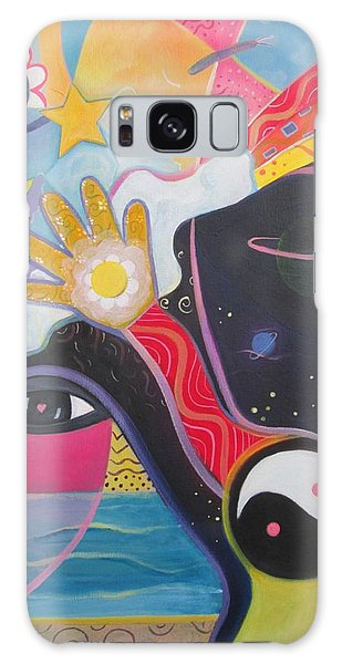 No Small Dream Galaxy Case by Helena Tiainen