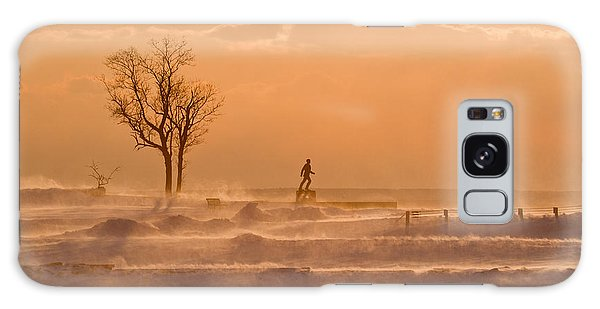No Walk In The Park Galaxy Case by Butch Lombardi