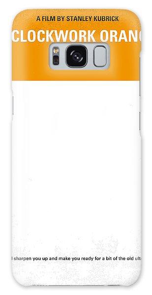Minimal Galaxy Case - No002 My A Clockwork Orange Minimal Movie Poster by Chungkong Art