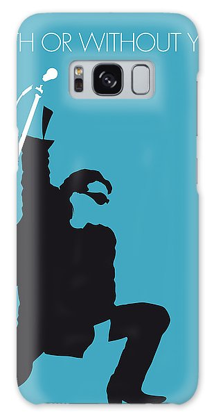 U2 Galaxy Case - No035 My U2 Minimal Music Poster by Chungkong Art